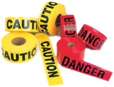 Safety Signs, Labels, Barrier Tapes & Lockout/Tagout