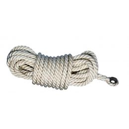 "Honeywell Miller® Rope Lifeline, 50' Length, 5/8"" Nylon"