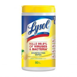 Lysol® Disinfecting Wipes, Lemon & Lime Blossom®