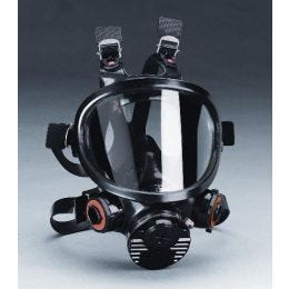 3M™ Full Facepiece Reusable Respirator 7800S Series, Front View