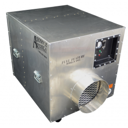 "Aerospace America 9103, The Aeroclean™ ""Full Feature"" 2000 Negative Air Machine"