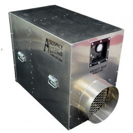 "Aerospace America 9180, The Aeroclean™ ""Mighty Mite"" 1800 Negative Air Machine"
