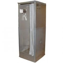 Aerospace America 9105, Pop-up Aluminum Decontamination Shower