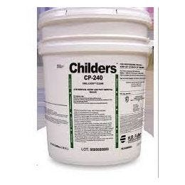 Childers CP-240 CHIL-LOCK Asbestos Removal Agent/Post Removal Sealer, Clear (5 GL)