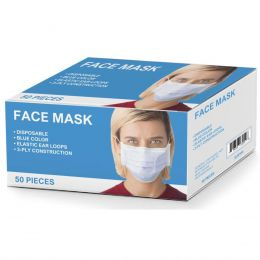Disposable Ear Loop Face Mask (50/BX)