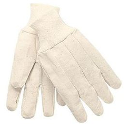 The Safety Zone® Cotton Canvas Glove w/ Knit Wrist (12 PR)