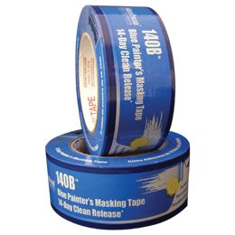 "Nashua® 140B 14-Day Painter's Blue Masking Tape, 2"" X 60 yds (24/CASE)"