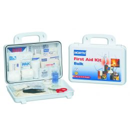 Honeywell North® Plastic Bulk First Aid Kit (25 Person), Close up