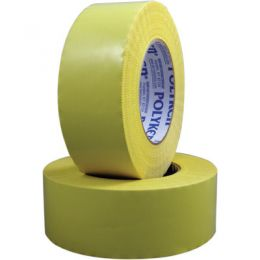 "Polyken® 809 Multi-Purpose Yellow PE Film Abatement Tape, 2""x60 yds (24/CASE)"