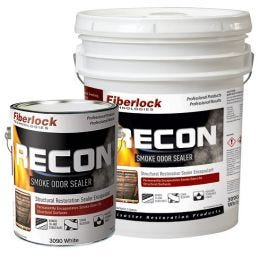 Fiberlock RECON Smoke Odor Sealer, White