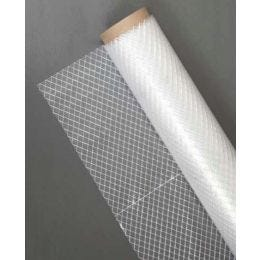 6 Mil Clear Reinforced Poly Sheeting, 20'x100' (1 RL)