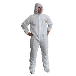 CORDOVA's C-MAX™ SMS Disposable Coverall with Hood and Boot SMS400 (25/CASE)