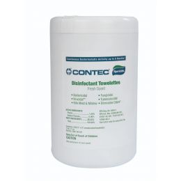 "Sporicidin® Disinfectant Wipes, Standard Size 5"" x 8"""