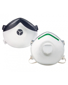 Honeywell Sperian SAF-T-FIT Plus N1125 Molded Cup N95 Particulate Respirator w/Boomerang Nose Seal & Valve - M/L (1 box of 20)